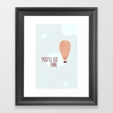 Without a doubt in my mind ♡ Framed Art Print