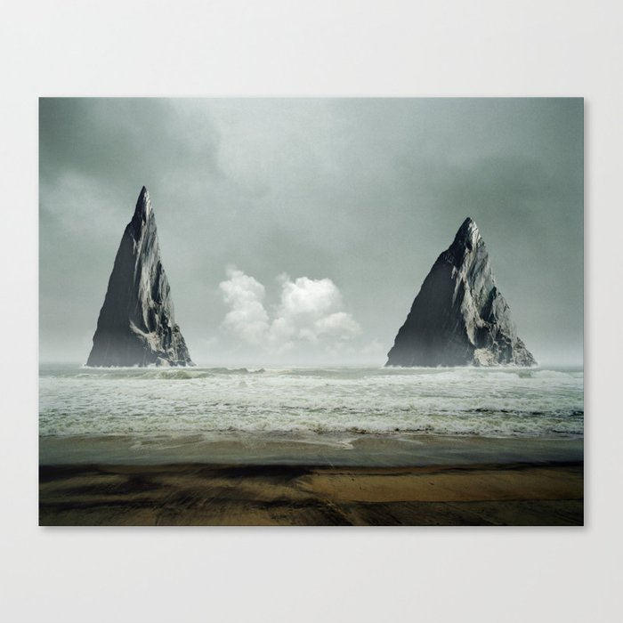 The Gates Canvas Print