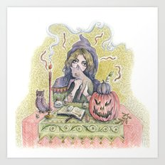 Are You a Witch? Art Print