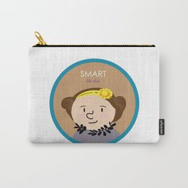Smart like Ada Lovelace Carry-All Pouch