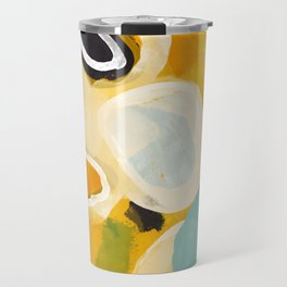 sunshine fall garden leaves Travel Mug