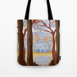 Autumn Leaves Autumn Woods Tote Bag