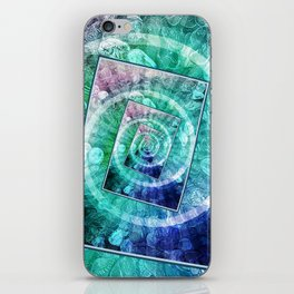 Spinning Nickels Into Infinity iPhone Skin