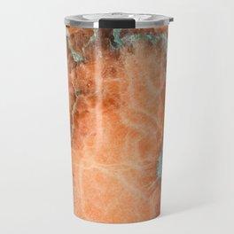 Abstract mineral texture Travel Mug