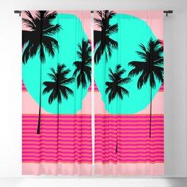 Hello California - Sunset Palms Blackout Curtain