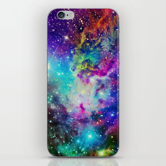 Fox Nebula iPhone & iPod Skin