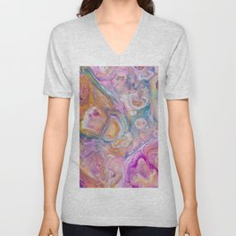 Seashell Mother of Pearl Unisex V-Neck
