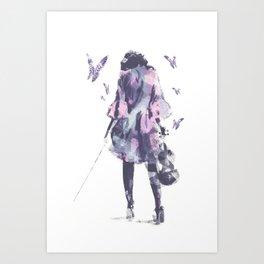 Entourage  Art Print
