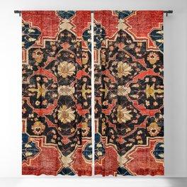 Arak Antique Persian Floral Rug Print Blackout Curtain