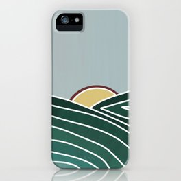 Mansfield Mountain Art  iPhone Case