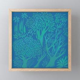 Blue Forrest Framed Mini Art Print