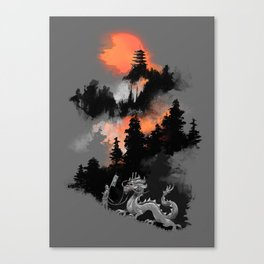 A samurai's life Canvas Print