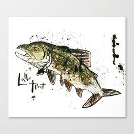Lake Trout Canvas Print