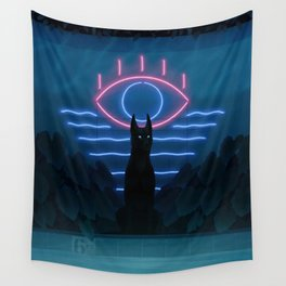 Forgotten Pool Wall Tapestry