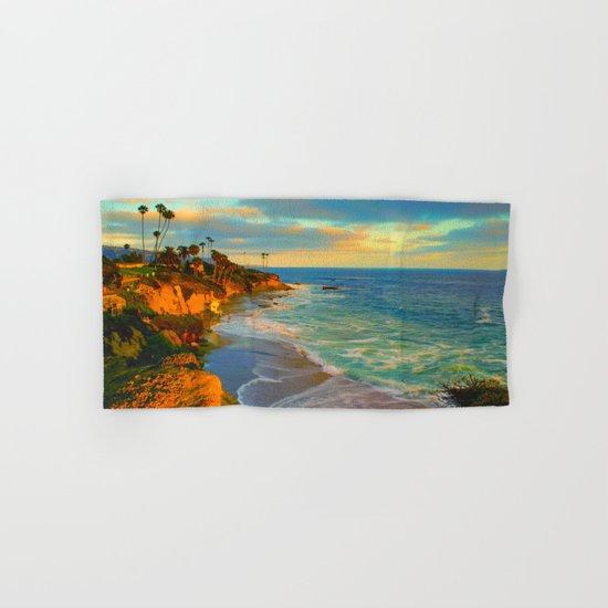 Laguna Beach California Hand & Bath Towel