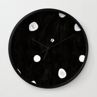 beetle Wall Clocks featuring Beetle by U I N V E R S O