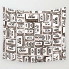 Love is a Mixtape Wall Tapestry