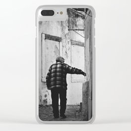 What's behind the corner? Clear iPhone Case