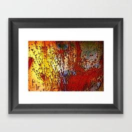 Rust is a Must Framed Art Print