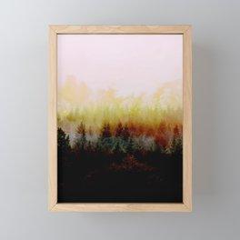 Burn in Forest Framed Mini Art Print