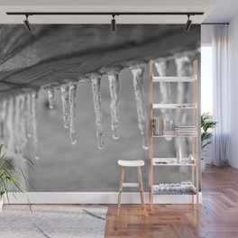 Dripping Ice Wall Mural