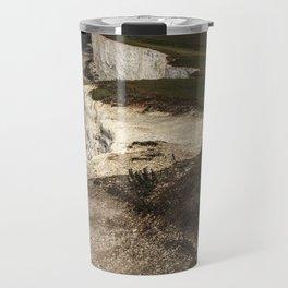 White cliffs of Beachy Head Travel Mug