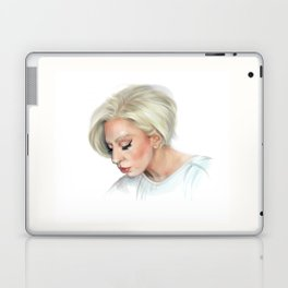 Lady Blond Laptop & iPad Skin