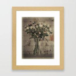 Wallflowers Framed Art Print