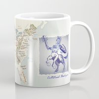 nfl Mugs featuring Coltstead Hooligan by GrimmLyon