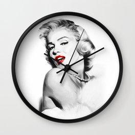 Marilyn - Blonde - Monroe - Pop Art Wall Clock