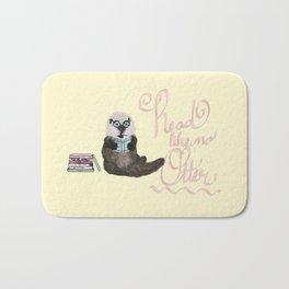 Martin the Otter: Read Like No Otter-by Hxlxynxchxle Bath Mat