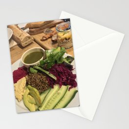 The French Vegan, To Your Health Stationery Cards