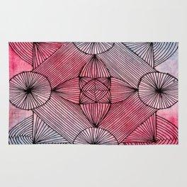 Zendala of Lines Rug