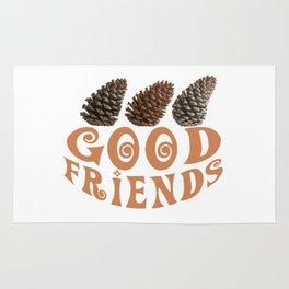 Good friends Rug
