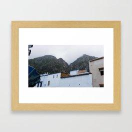 Chefchaouen Framed Art Print