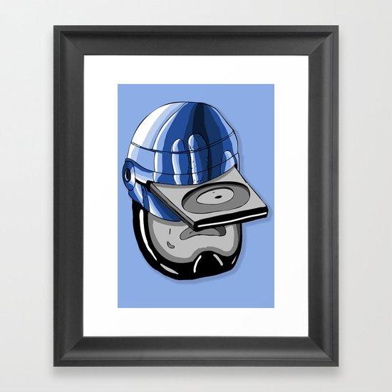 Robodisc Framed Art Print