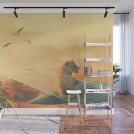 Lion Airlines Flight by GEN Z Wall Mural