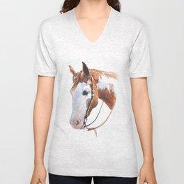 Western Horse Unisex V-Neck