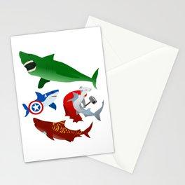 S.H.A.R.K.S. Stationery Cards