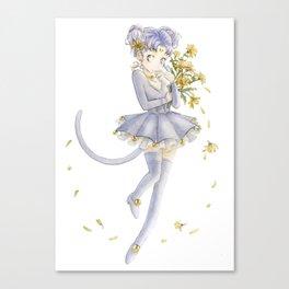 Diana´s human form Sailormoon fanart Canvas Print