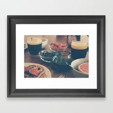 breaky Framed Art Print