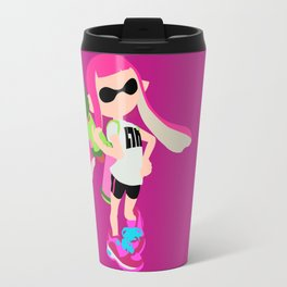 Inkling Girl (Pink) - Splatoon Travel Mug