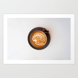Lost in the Morning Art Print