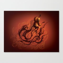 Year of the Fire Monkey (2016) Canvas Print