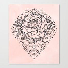 Night Rose Canvas Print