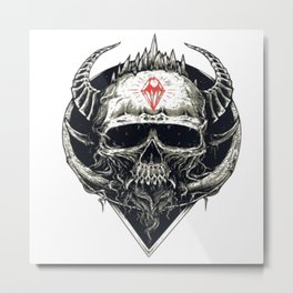 Deaths Prophet Metal Print