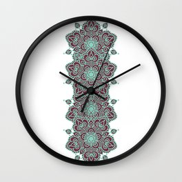 hindi mandala Wall Clock