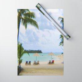 A Dreamy Day at a Tahitian Beach, Bora Bora Wrapping Paper