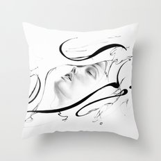 Line 3 Throw Pillow
