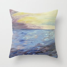 Ocean II Throw Pillow